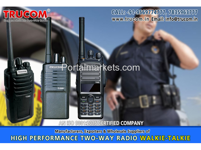 Security Walkie Talkie in India - 1/4