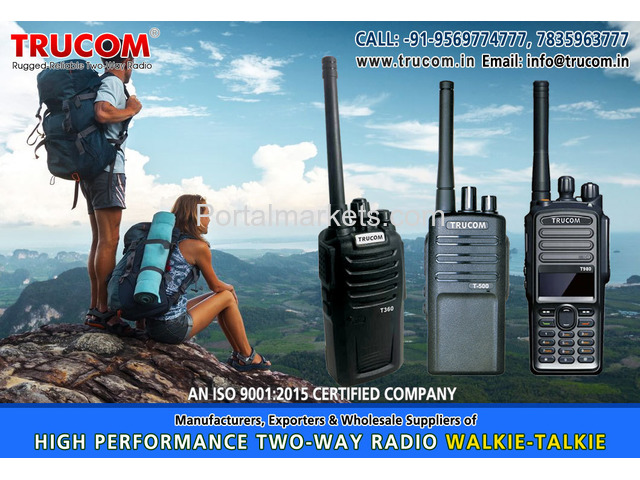 Security Walkie Talkie in India - 2/4