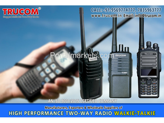 Security Walkie Talkie in India - 3/4