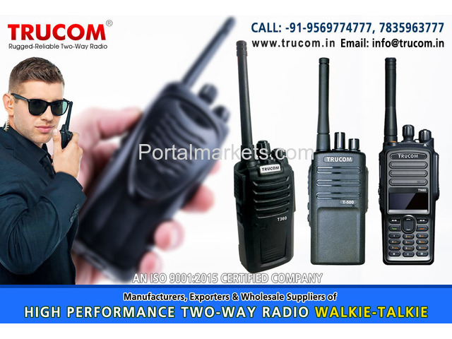 Security Walkie Talkie in India - 4/4