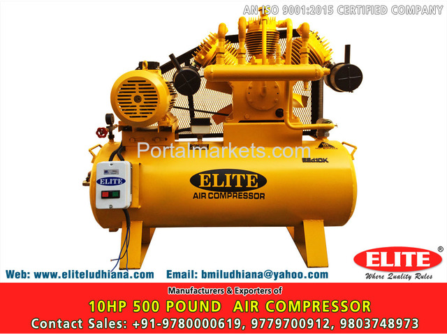 10HP 500 Pound Air Compressor - 1/4