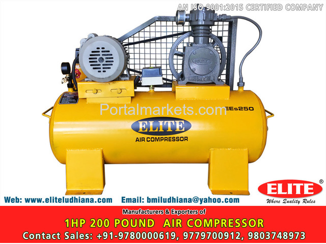 10HP 500 Pound Air Compressor - 2/4