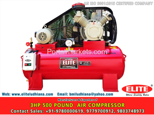 10HP 500 Pound Air Compressor - 3/4