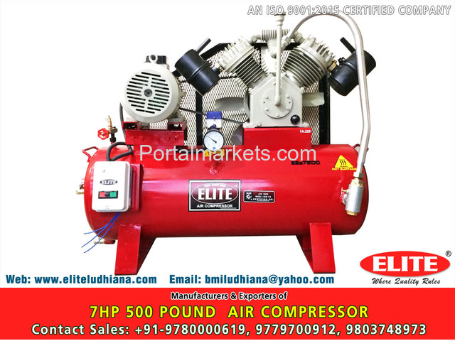 10HP 500 Pound Air Compressor - 4/4