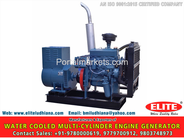 Water Cooled Multi Cylinder Engine - 1/4