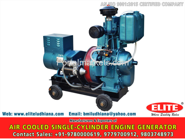 Water Cooled Multi Cylinder Engine - 4/4