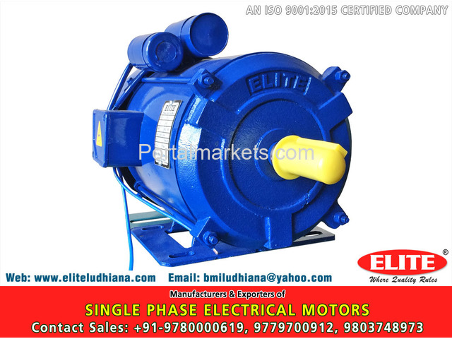 1 Phase Electric Motors - 3/4