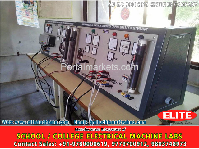 Bench Grinders & Bench Polishers, School College Electrical Machine Labs, Tyre Changer Machine - 3/4