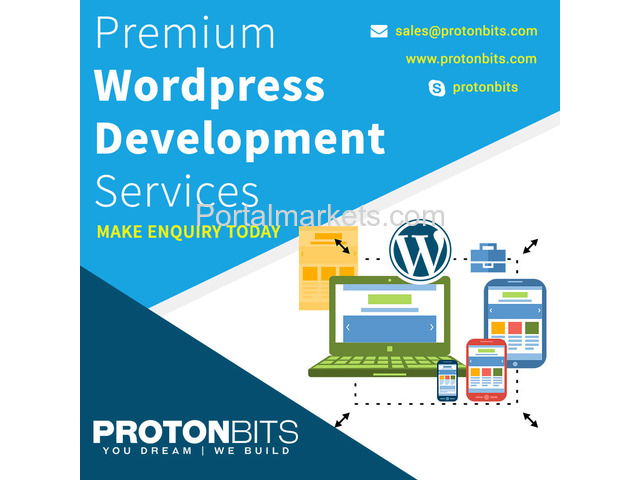 Low Cost Wordpress Development Service at Protonbits - 2/3