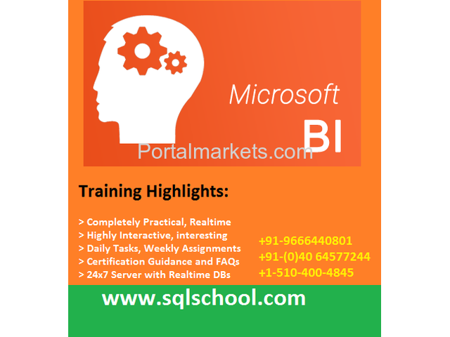 SQL Business Intelligence Real Time Online Training @ SQL School - 1/1