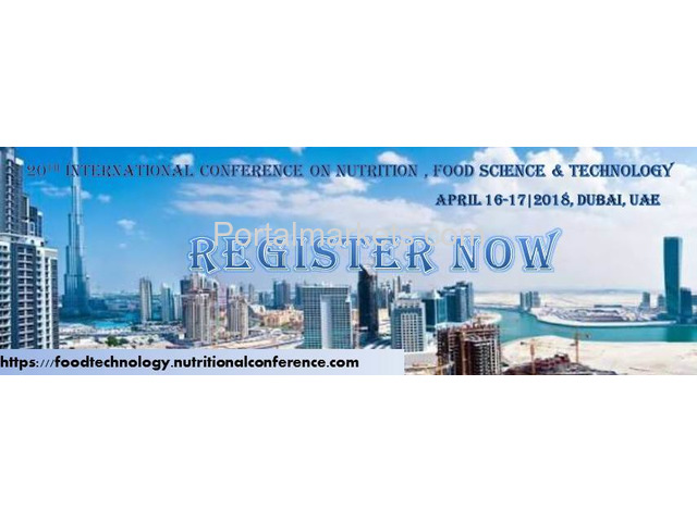 20th International Conference on Nutrition,Food Science and Technology - 3/4