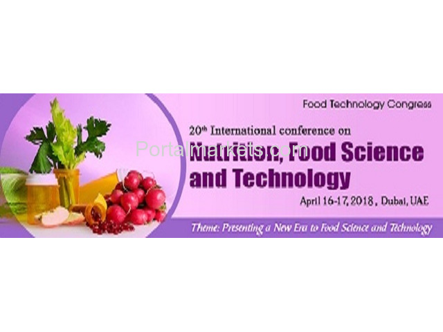 20th International Conference on Nutrition,Food Science and Technology - 4/4