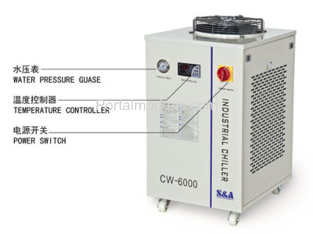 S&A recirculating water chiller CW-6000 AC220/110V, 50/60Hz - 2/3
