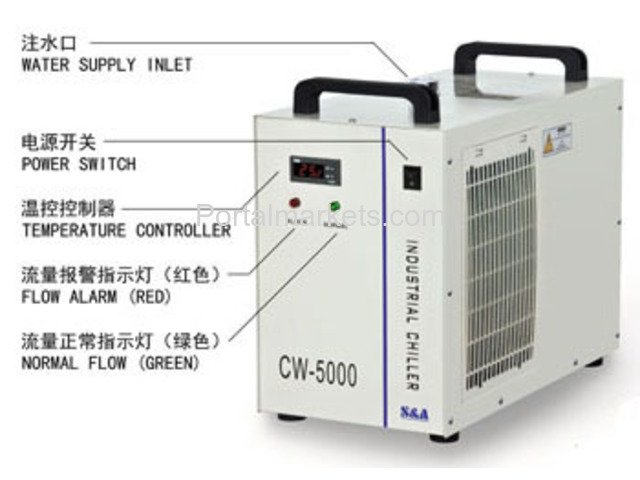 S&A industrial water chiller CW-5000 manufacturer for co2 laser - 3/3