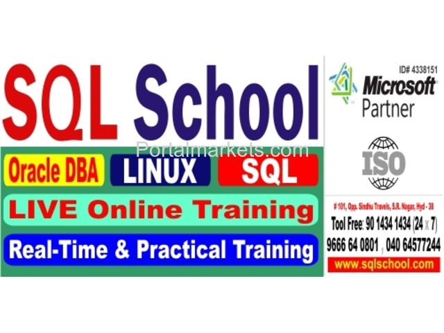 Real-time and Practical LIVE Online Training on Oracle Admin @ SQL School Training Institute - 1/2