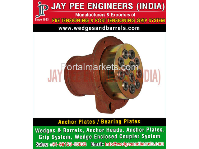 Anchor Plates Manufacturers Suppliers Exporters in India - 2/4