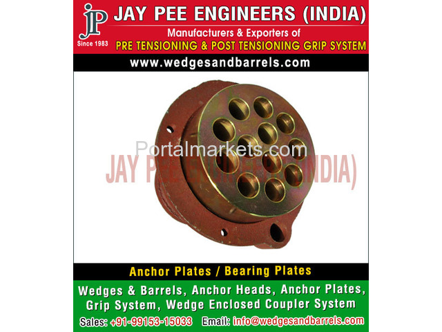 Anchor Plates Manufacturers Suppliers Exporters in India - 4/4