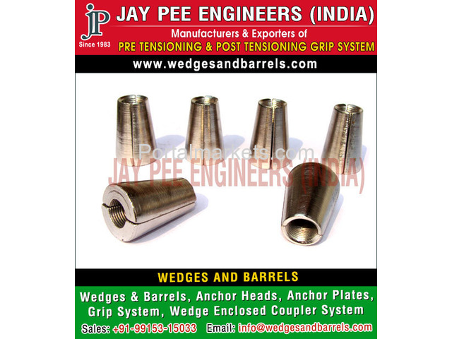 Wedges and Barrels Manufacturers Suppliers Exporters in India - 1/4
