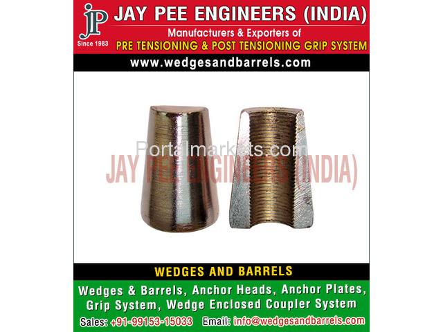 Wedges and Barrels Manufacturers Suppliers Exporters in India - 4/4