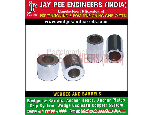 Barrels and wedges Manufacturers Suppliers Exporters in India - 2/4