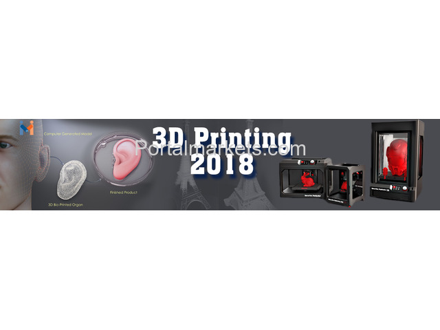 Annual Conference on 3D printing & Bio-printing in Healthcare - 1/2