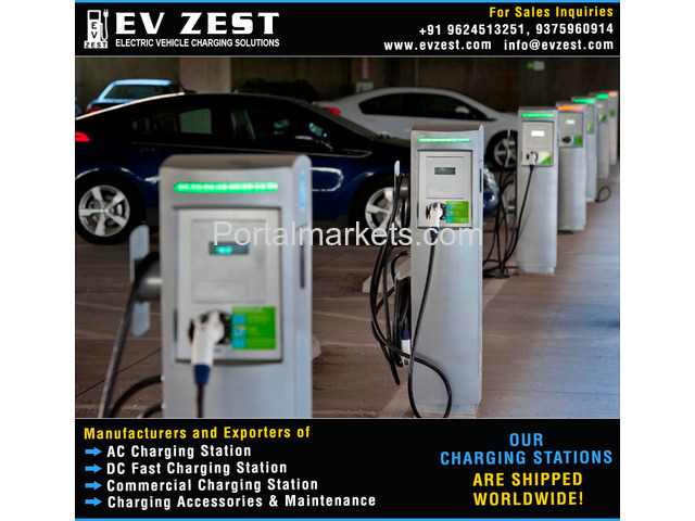 Electric Vehicle Charging Station manufacturers exporters suppliers distributors in india - 1/4