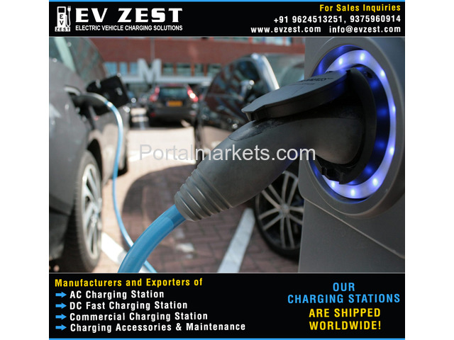 EV Charging Station manufacturers exporters suppliers distributors dealers in India - 1/4