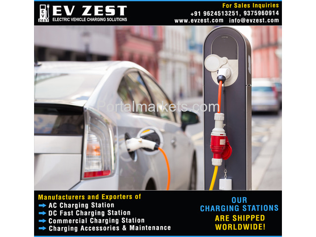 Commercial EV Charging Station manufacturers exporters suppliers distributors in India - 2/4