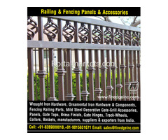 wrought iron hardware for gates manufacturers exporters suppliers India