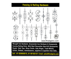 decorative metal fencing panels and accessories manufacturers exporters suppliers India