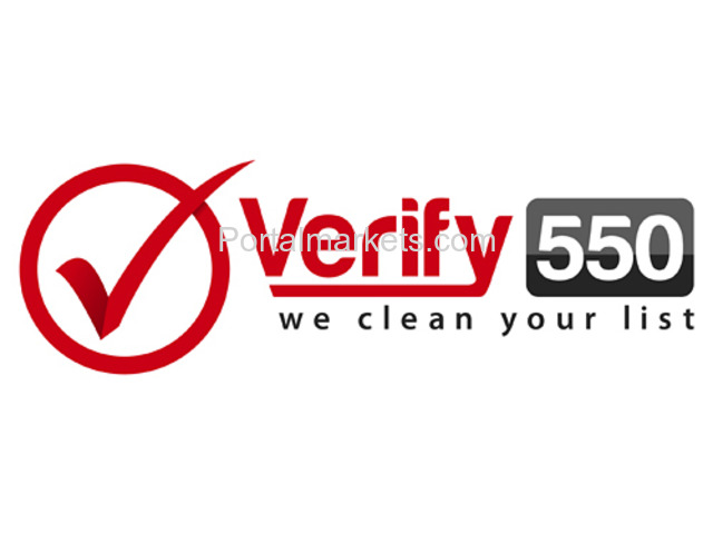 Email Validation and Verification Services - Verify550 - 1/1
