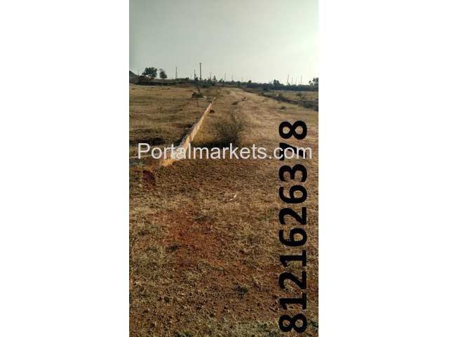 Great opportunity to get Plot at India, Hyderabad ( Rs.2900/ sq yard - 1/2