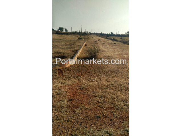 Best plot at Hyderabad near international air port just Rs.2900  per sq  yad - 1/1