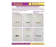 New Silver Names Necklace