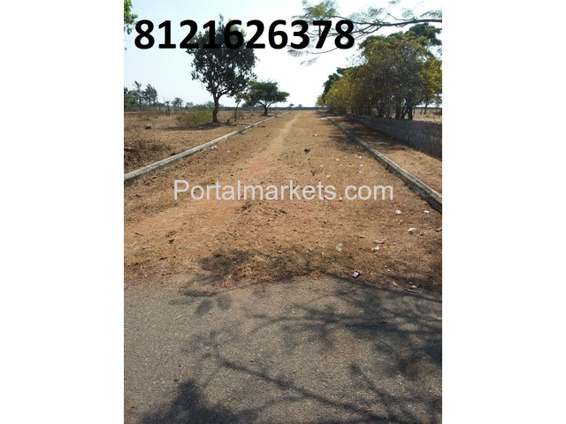 Commercial plot for sale in DTCP Layout near IT Park Maheswaram - 1/3