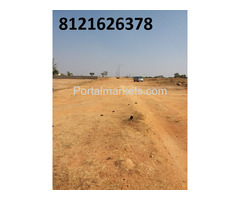Commercial plot for sale in DTCP Layout near IT Park Maheswaram