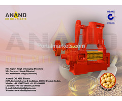 Soyabean Seed Oil Expeller Machine Manufacturers Exporters in India Punjab