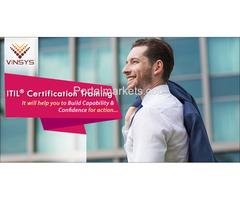 Enroll for ITIL Foundation Certification in Pune- ITIL Training in Pune by Vinsys