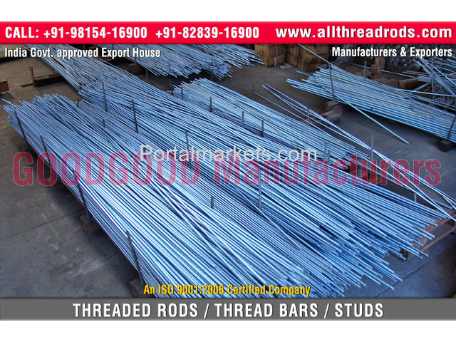 Rolled Threaded Bars - 1/4