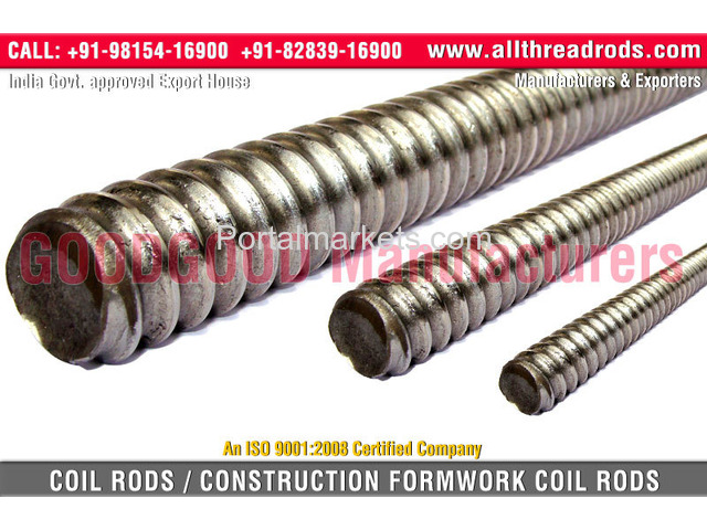 Rolled Threaded Bars - 3/4