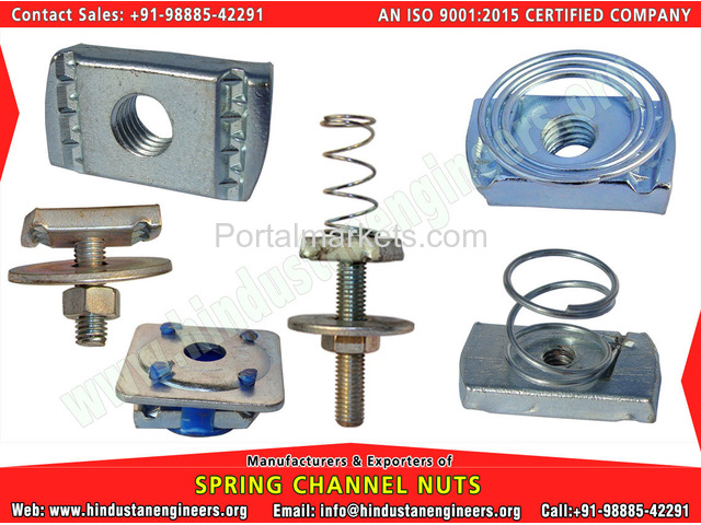 Spring Channel Nuts - 1/4