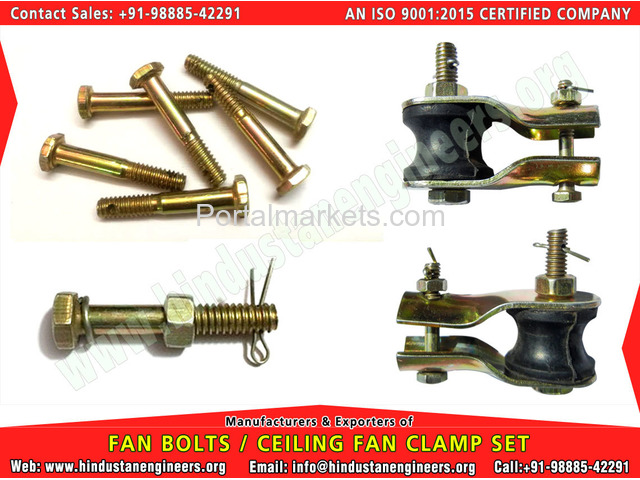 Fan Bolts / Fan Clamps - 1/4