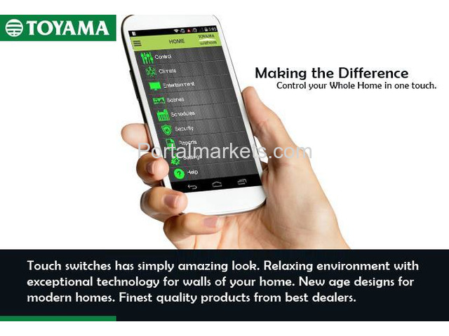 Best Home Automation System in India Call: +91 8861932495, www.toyamaindia.com - 1/4