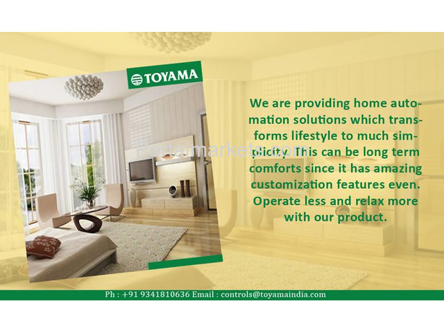 Best Home Automation System in India Call: +91 8861932495, www.toyamaindia.com - 2/4