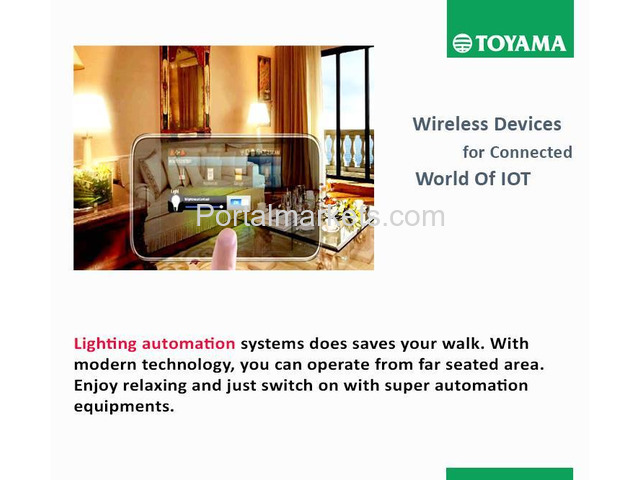 Best Home Automation System in India Call: +91 8861932495, www.toyamaindia.com - 3/4
