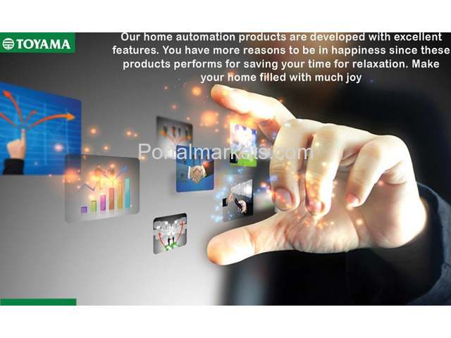 Best Home Automation System in India Call: +91 8861932495, www.toyamaindia.com - 4/4