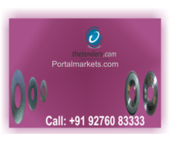 Tenders for washers, nuts, bolts, bearings  other mechanical items