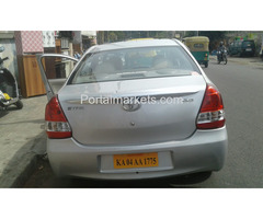 Etios car hire for outstation Bangalore 9036657799