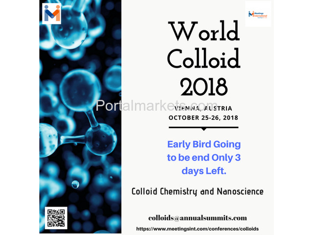 World Colloid Conference 2018 - 1/4
