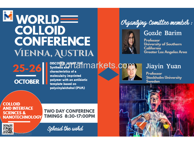 World Colloid Conference 2018 - 3/4